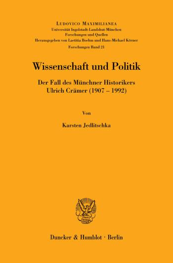 Cover: Ludovico Maximilianea. Forschungen (LMF)