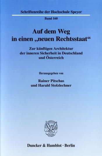 """Cover: Auf dem Weg in einen """"neuen Rechtsstaat"""""""