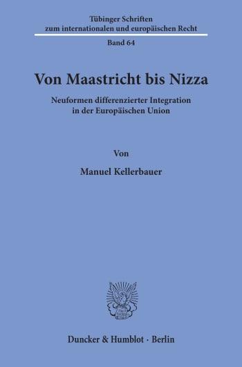 Cover: Von Maastricht bis Nizza