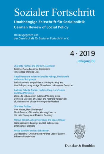 Cover: Sozialer Fortschritt (SF)