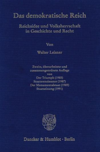 Cover: Das demokratische Reich