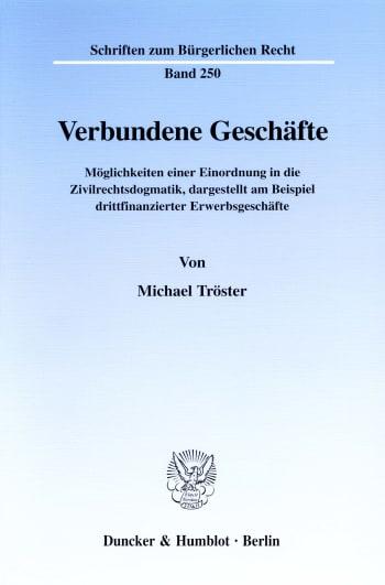 Cover: Verbundene Geschäfte