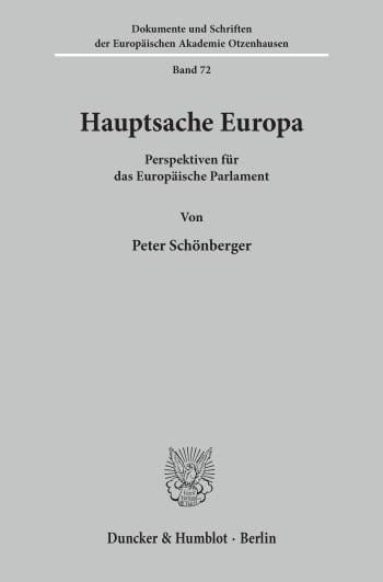 Cover: Hauptsache Europa