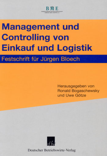 Cover: Management und Controlling von Einkauf und Logistik