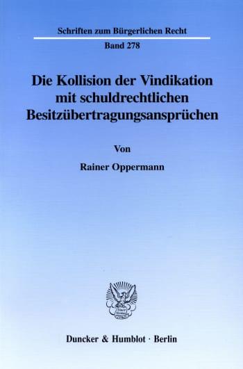 Cover: Schriften zum Bürgerlichen Recht (BR)