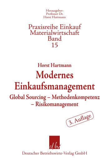 Cover: Modernes Einkaufsmanagement
