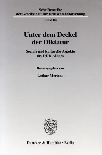 Cover: Unter dem Deckel der Diktatur