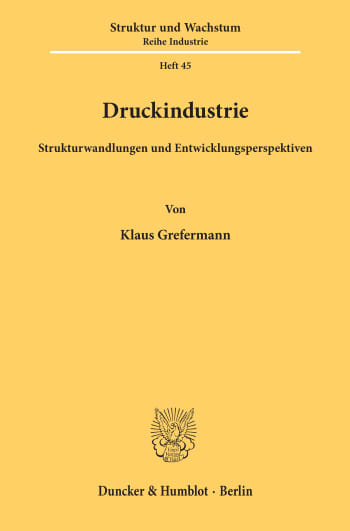 Cover: Druckindustrie