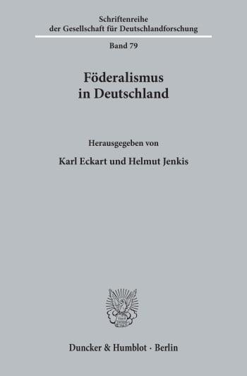 Cover: Föderalismus in Deutschland