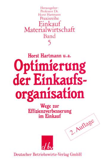 Cover: Optimierung der Einkaufsorganisation