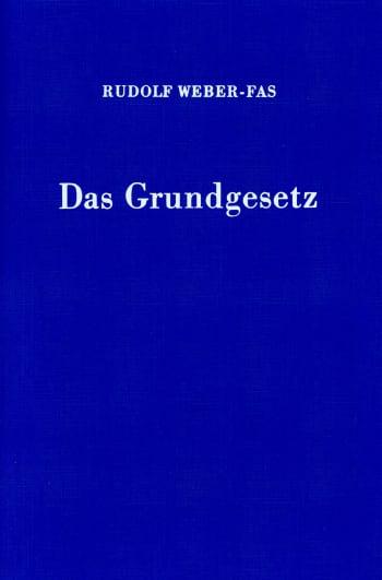 Cover: Das Grundgesetz