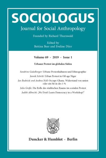 Cover: Sociologus (SOC)