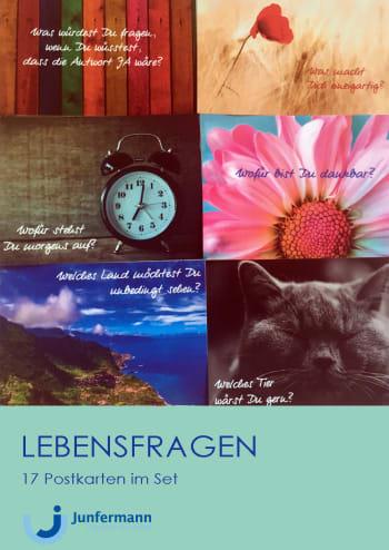 Postkartenset Lebensfragen