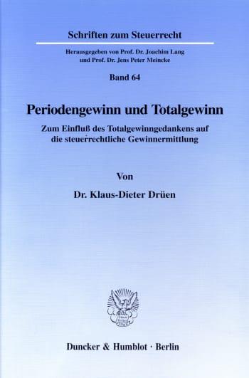 Cover: Periodengewinn und Totalgewinn