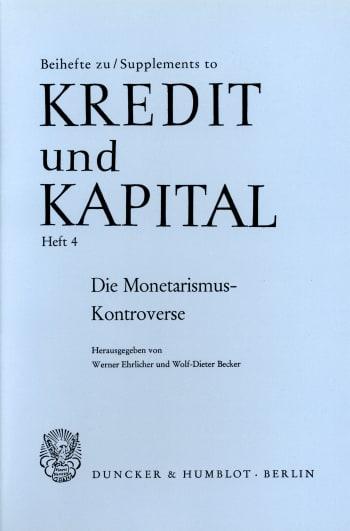 Cover: Die Monetarismus-Kontroverse