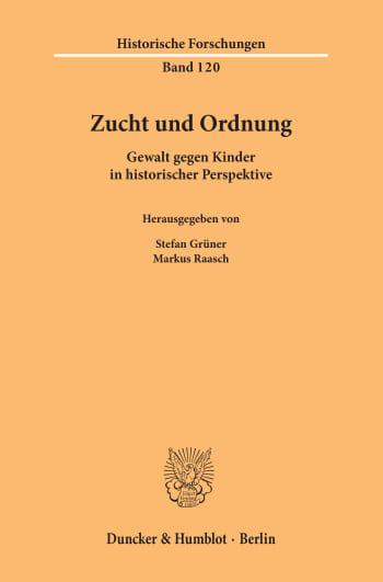 Cover: Zucht und Ordnung
