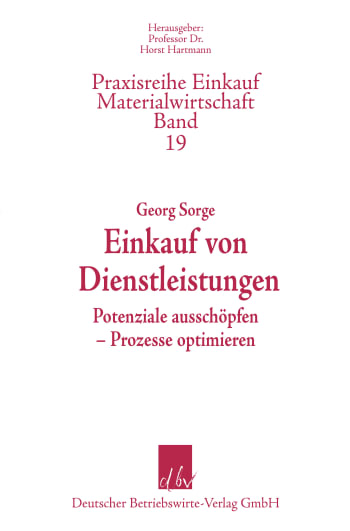 Cover: Einkauf von Dienstleistungen
