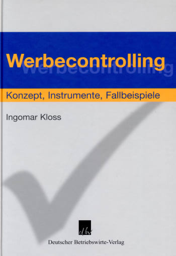 Cover: Werbecontrolling