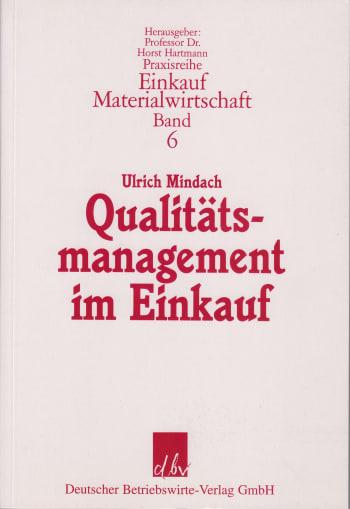 Cover: Qualitätsmanagement im Einkauf