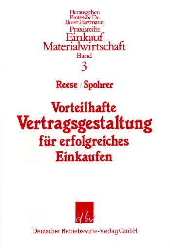 Cover: Vorteilhafte Vertragsgestaltung für erfolgreiches Einkaufen