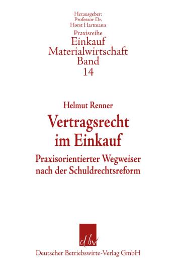 Cover: Vertragsrecht im Einkauf
