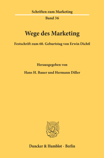 Cover: Wege des Marketing