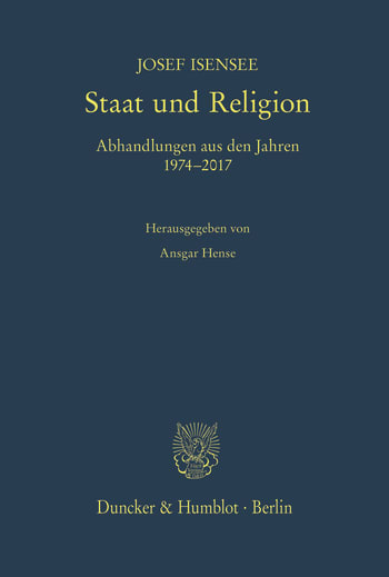 Cover: Staat und Religion