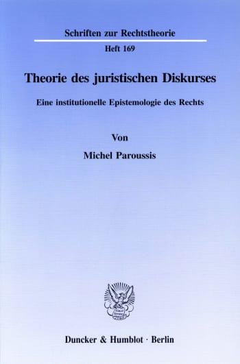 Cover: Theorie des juristischen Diskurses