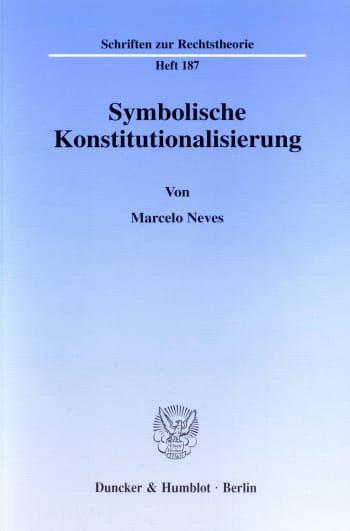 Cover: Symbolische Konstitutionalisierung