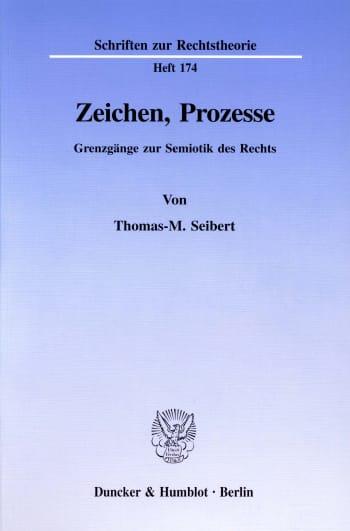 Cover: Zeichen, Prozesse