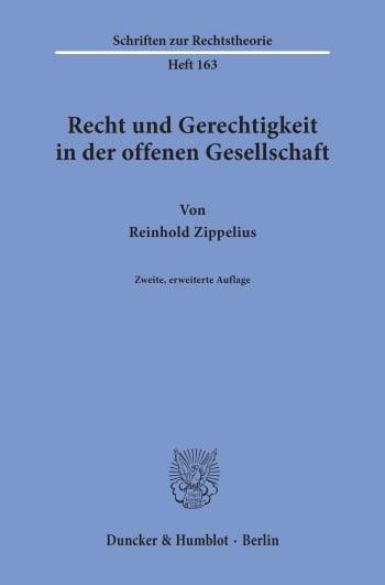 Cover: Recht und Gerechtigkeit in der offenen Gesellschaft