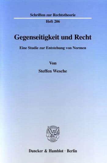 Cover: Gegenseitigkeit und Recht