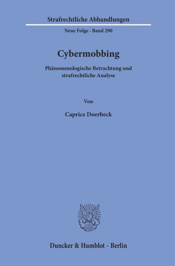 Cover: Cybermobbing
