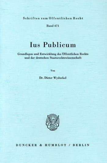 Cover: Ius Publicum