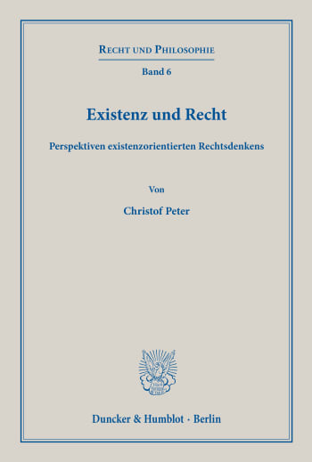 Cover: Recht und Philosophie (RP)