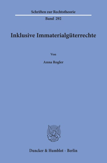 Cover: Inklusive Immaterialgüterrechte