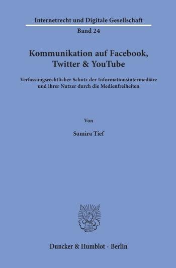 Cover: Internetrecht und Digitale Gesellschaft (IDG)