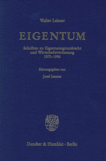Cover: EIGENTUM