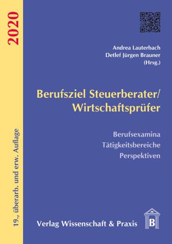 Cover: Berufsziel Steuerberater/Wirtschaftsprüfer 2020