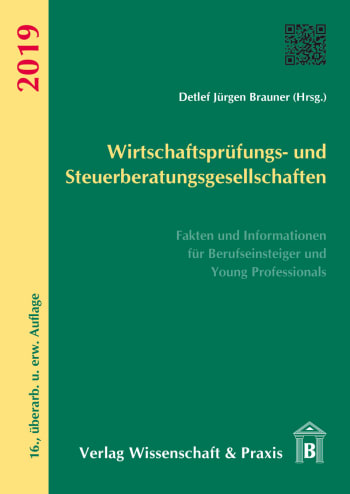Cover: Wirtschaftsprüfungs- und Steuerberatungsgesellschaften 2019