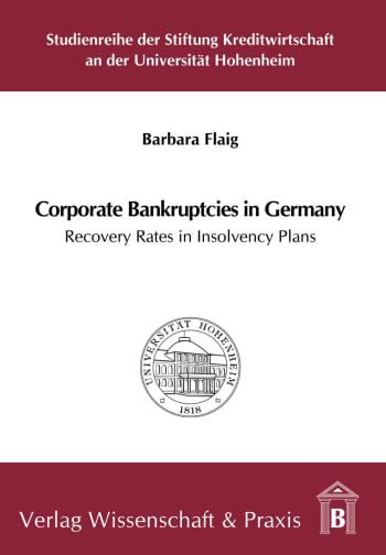Cover: Corporate Bankruptcies in Germany