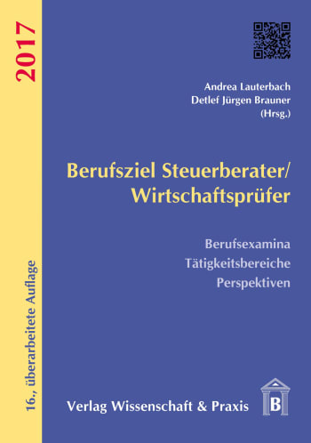 Cover: Berufsziel Steuerberater/Wirtschaftsprüfer 2017