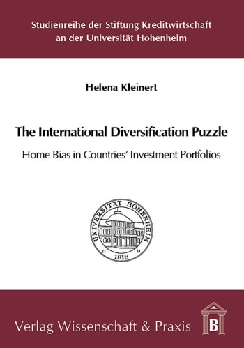 Cover: The International Diversification Puzzle: Home Bias in Countries' Investment Portfolios