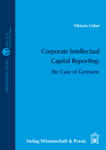 Cover: Corporate Intellectual Capital Reporting: the Case of Germany