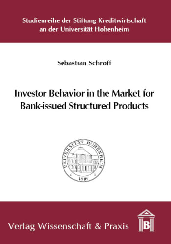 Cover: Investor Behavior in the Market for Bank-issued Structured Products