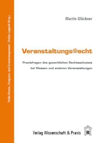 Cover: Veranstaltungsrecht