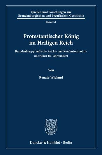 Cover: Protestantischer König im Heiligen Reich