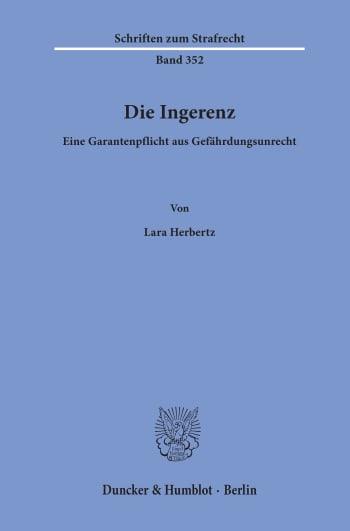 Cover: Die Ingerenz