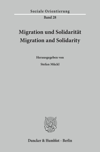 Cover: Migration und Solidarität / Migration and Solidarity