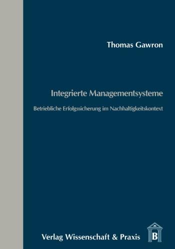 Cover: Integrierte Managementsysteme